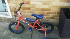 kids bike Spiderman