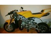 Watercooled mini moto