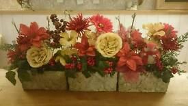 Memorial Graveside flower displays