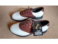 Mens Etonic waterproof Golf shoes size uk 8.5 unused