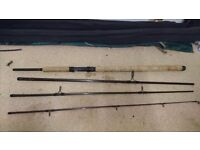 Salmon rods and reels
