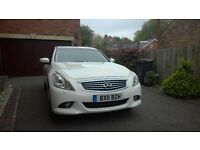 Infiniti G37X rare X type (AWD) luxury sports saloon - fast, comfortable, easy to drive.