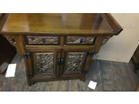Beautifully Chinese carved cabinet
