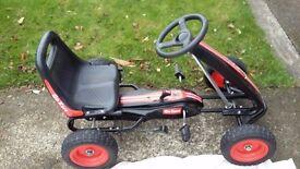 Smyths Black and Red Go Kart
