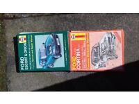 Car Haynes manuals for sale