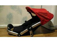 Quinny Buzz seat unit fits straight onto pram, pushchair