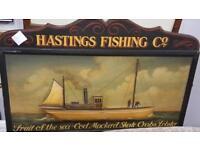 Advertisement Sign-Hastings Fishing
