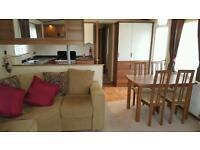 Luxury static caravan with patio doors and veranda - Sundrum Castle Holiday Park