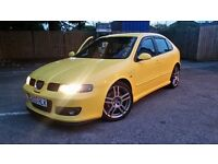**Bargain** Seat Leon Cupra R Turbo BAM engine same as S3 **may px cash eitherway**