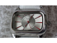 BEAUTIFUL NEXT DIGITAL ANALOGUE MENS UNISEX WATCH WHITE BARGAIN - Can swop - work s perfectly -
