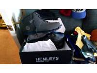 Brand new mens Henleys boots size 10