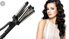 Enrapture jumbo wave hair tongs