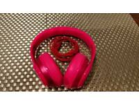 Beats by Dr dre solo 2 Pink