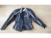 Women Leather motorbike jacket Tuzo - used - 8UK