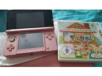 Nintendo 3DS with Animal Crossing Happy Home Designer