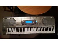 Excellent Casio WK-3700 advanced portal keyboard with stand and accessories