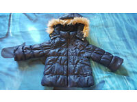 H&M girl's winter jacket size 1,5/2 yrs