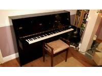 Yamaha fully acoustic upright piano