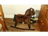 Child's Rocking Horse with sound