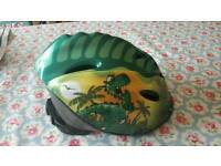 Childrens dinosaur cycle helmet