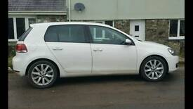 Vw golf Gt tdi 61 2011 plate with 83k