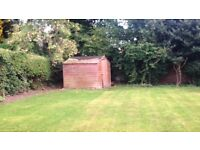 Used wooden shed