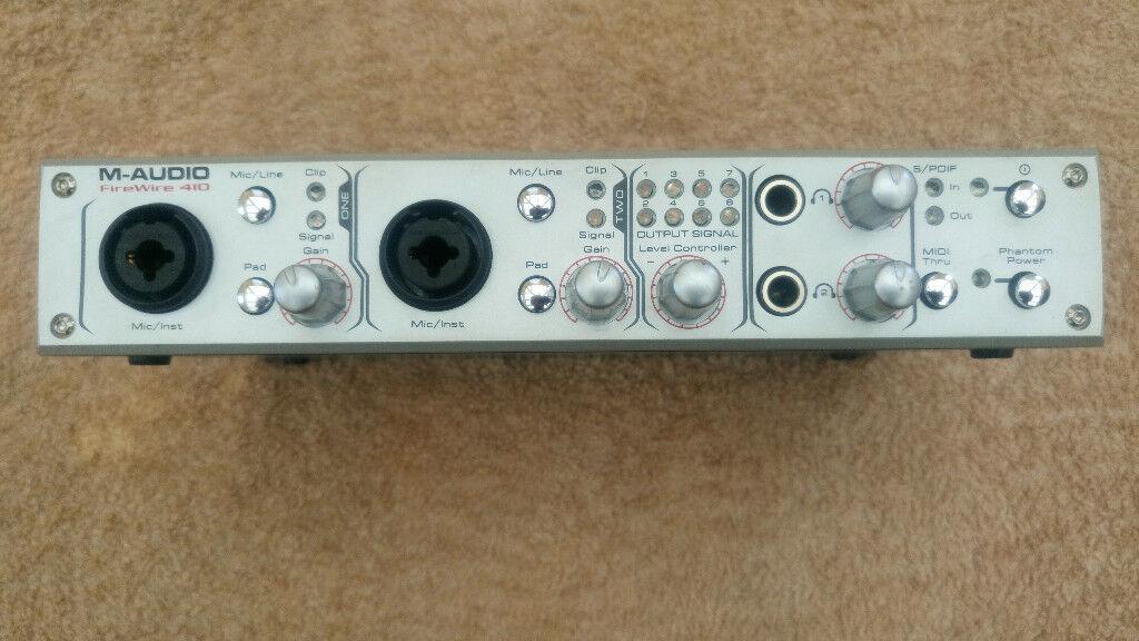 M-audio firewire 410 driver mac os x lion