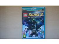BATMAN 3 BEYOND GOTHAM WII U GAME FOR SALE