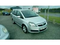 07 Vauxhall Zafira 7 Seater Full Mot Oct 18 2 owners 2 Keys nice car ( can be viewed inside anytime