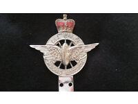 Vintage Civil Service Car Badge