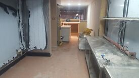 Brand new ready take away for rent with all equipment's