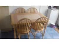 Dining Table (with 4 chairs)