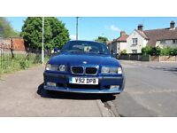 BMW 3 SERIES 323i 2.5 AUTO M SPORT CONVERTIBLE HARD TOP FSH(PART BMW SERVICE HISTORY)