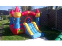 Bouncy castle with slide blower Inc