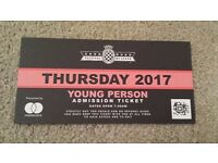 Goodwood Festival of Speed 2017 - Young Person Ticket