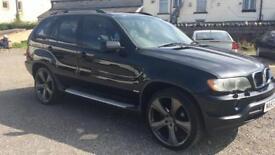 BMW X5 3.0 auto diesel sport 12 months mot 2 keys