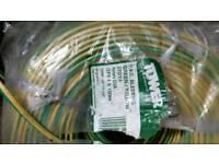 PVC Green/Yellow Cabling