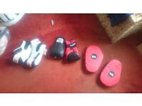 boxing equipment rarley used!!!!