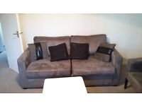 Sofas - 2 seater and a 1 seater