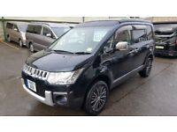 MITSUBISHI DELICA D5, Petrol 2.4 selectable 4WD 2007 by Wellhouse