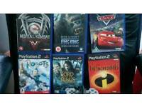 Ps2 games and 1 controller