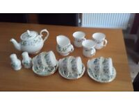 'DUCHESS' STRAWBERRY FIELD COLLECTION - BONE CHINA TEA SET