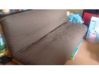 Free to collect - futon company three seater double bed