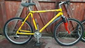Claude butler front suspension bike. Can deliver
