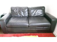 Next Leather Sofa Bed