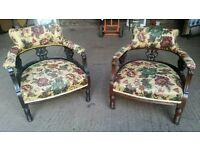 Pair of Victorian Parlour Chairs
