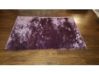 Mauve rug from next