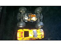 NITRO RC CAR HPI BULLET ST 3.0 very good condition