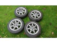 Mx5 Daisy Alloy wheels 4x100