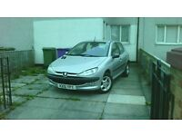 Peugeot 206 GLX 2.0 Diesel 2001, Cheap on tax-Cheap on Fuel